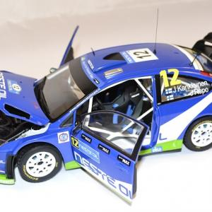Ford focus rs wrc kankkunen 2010 sunstar 1 18 autominiature01 com 3