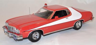 "Ford gran torino 1976 ""starsky et hutch"" 1/18 greenlight"