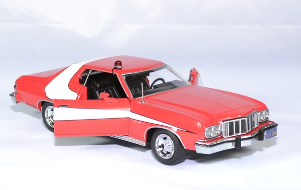 Ford grand torino starsky hutch greenlught 1 24 1975 autominiature01 3