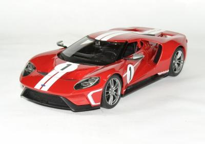 Ford gt 2017 maisto 1 18 red autominiature01 1