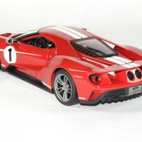 Ford gt 2017 maisto 1 18 red autominiature01 2