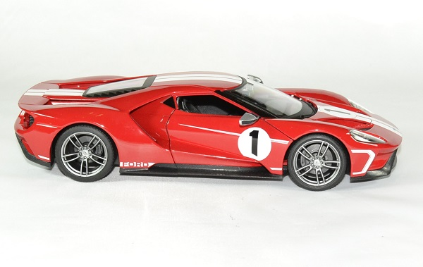 Ford gt 2017 maisto 1 18 red autominiature01 3