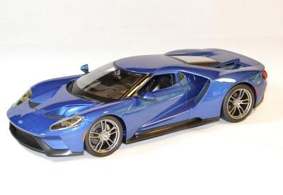 Ford gt bleu 2017
