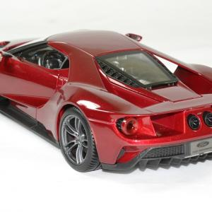 Ford gt 2017 rouge 1 18 maisto autominiature01 2