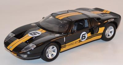 Ford GT Concept #6 noire et jaune 1/24 Motor Max