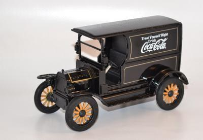 Ford model T 1913 noir Coca Cola 449104 MOTOR CITY au 1-24
