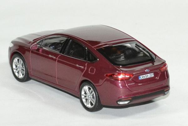 Rouge Automobile Mondéo Norev Ford 2014 143 Miniature kiOPXuZ