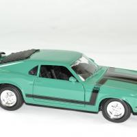 Ford mustang 1970 boss 302 verte 1 24 maisto autominiature01 3