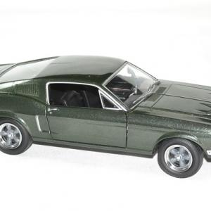 Ford mustang bullit 1968 1 24 greenlight autominiature01 3