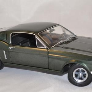 Ford mustang bullit 1968 greenlight 1 18 autominiature01 4
