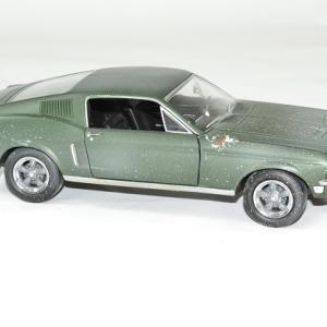 Ford mustang bullit 1968 mcqueen 1 24 unrestored autominiature01 3