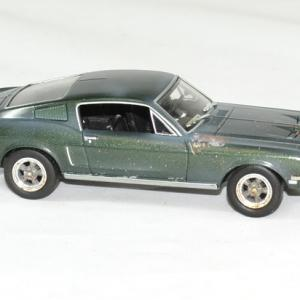 Ford mustang bullit unrestored 1968 mc queen 1 43 greenlight autominiature01 3