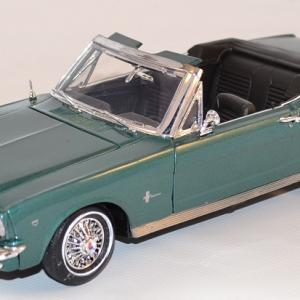 Ford mustang cabriolet 1964 motor max 1 18 autominiature01 com mom73145mg 1