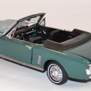 Ford mustang cabriolet 1964 motor max 1 18 autominiature01 com mom73145mg 3