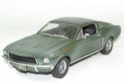 Ford mustang gt unrestored mcqueen bullit 1 18 greenlight autominiature01 1