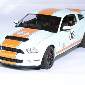 Ford mustang gt500 shelby gulf 2012 greenlight 1 18 autominiature01 1