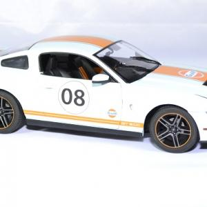 Ford mustang gt500 shelby gulf 2012 greenlight 1 18 autominiature01 3