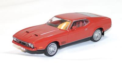 Ford mustang mach 1 1971 red ixo 1/43