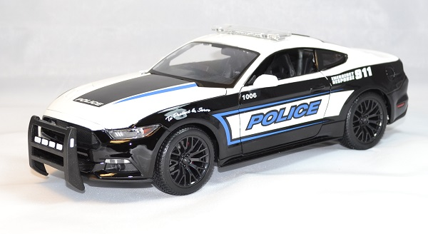 Ford mustnag gt police 2015 maisto 1 18 autominiature01 1