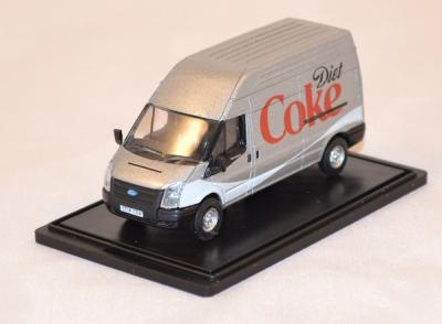 Ford transit gris diet coke oxford 1/76
