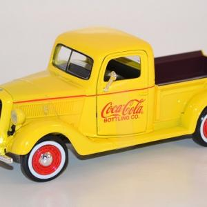 Ford pick up 1937 jaune coca cola 1 24 433213 autominiature01 com 1 1