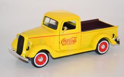 FORD PICK UP 1937 Publicité COCA-COLA MOTOR CITY au 1-24