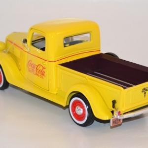 Ford pick up 1937 jaune coca cola 1 24 433213 autominiature01 com 3