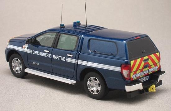 Ford ranger 2016 gendarmerie maritime 1 43 alarme autominiature01 2