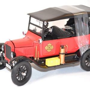 Ford t capitaine pompier 1 24 miniature sunstar 1925 autominiature01 com 1