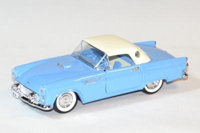 Ford thunderbird bleu 1956 fermée