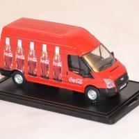 Ford transit coca cola 1 76 oxford 013cc rouge autominiature01 com 2