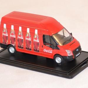 Ford transit coca cola 1 76 oxford 013cc rouge autominiature01 com 2