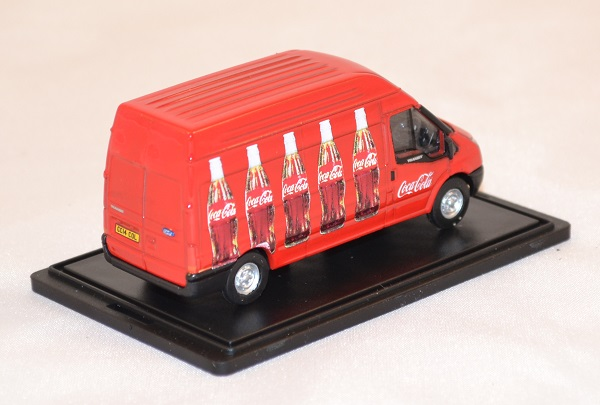 Ford transit coca cola 1 76 oxford 013cc rouge autominiature01 com 3