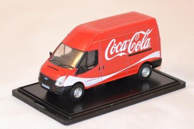 Ford Transit red delivery Coca Cola 1/76 oxford