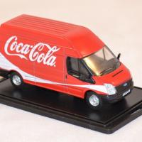 Ford transit coca cola light 1 76 oxford 014cc autominiature01 com 2