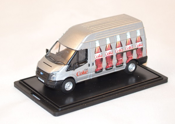 Ford transit coca cola light 1 76 oxford 018cc autominiature01 com 1