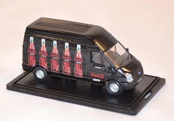 Ford transit coca cola zero 1 76 oxford 015cc autominiature01 com 2
