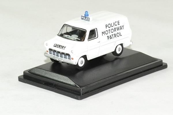 Ford transit mki police motorway patrol 1 76 oxford autominiature01 1
