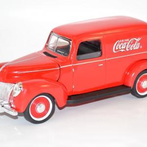 Ford van fourgonnette 1940 coca cola 385673 1 18 autominiature01 com 1