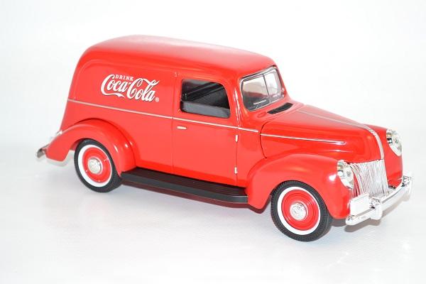 Ford van fourgonnette 1940 coca cola 385673 1 18 autominiature01 com 2