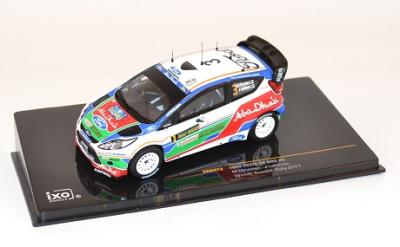 Ford Fiesta RS WRC #3 M. Hirvonen Suede 2011