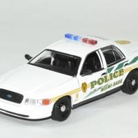 Frod crown victoria police csi miami 1 43 greenlight autominiature01 1