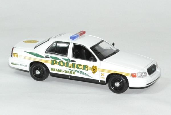 Frod crown victoria police csi miami 1 43 greenlight autominiature01 3