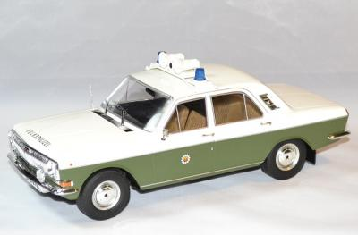 Gaz Volga M24 1972 police east germany