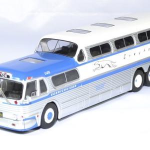 Greyhound scenicruiser bus 1956 ixo 1 43 autominiature01 1