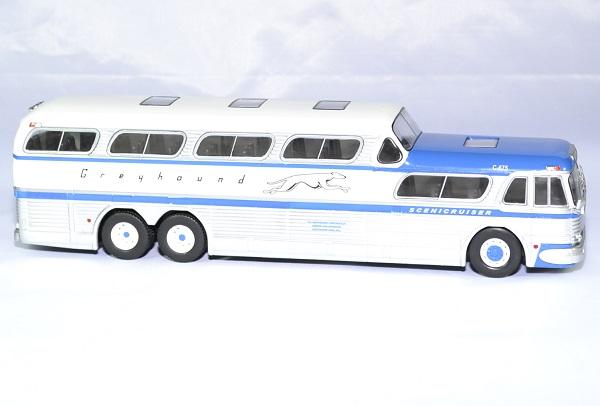 Greyhound scenicruiser bus 1956 ixo 1 43 autominiature01 3