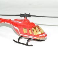 Helicoptere securite civile pompier bburago 3