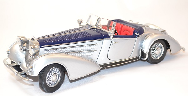 Horch 855 roadster 1939 miniature sunstar 1 18 autominiature01 com 1