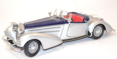 Horch 855 roadster 1939 gris bleu 1/18 sunstar
