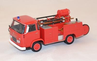Hotchkiss pl60 French firefireghter first aid truck  1/43 eligor